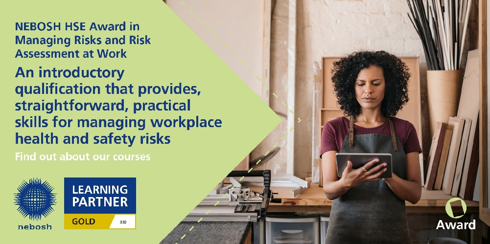 nebosh hse award in managing risk and risk assessments